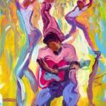 """Dancing in the Streets"" by sandrabolensamuel"