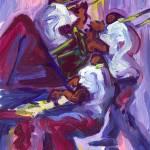 """Piano Trombone and Trumpet"" by sandrabolensamuel"