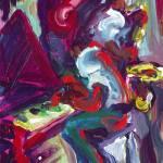 """""""Red Hot Jazz Trio"""" by sandrabolensamuel"""