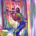 """Preservation Hall Gate"" by sandrabolensamuel"
