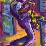 """""""Saxophone Serenade"""" by sandrabolensamuel"""