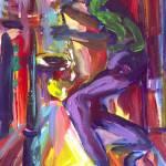 """Dancing With My Saxophone"" by sandrabolensamuel"