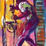 """Play That Saxophone"" by sandrabolensamuel"