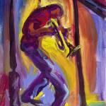 """""""Trumpet Man"""" by sandrabolensamuel"""