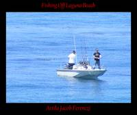 Fishing Off Laguna Beach