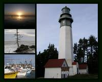 Washington Coast Photo Montage