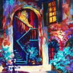 """Courtyard"" by sandrabolensamuel"