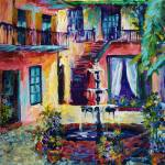 """Cozy Courtyard"" by sandrabolensamuel"