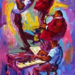 """""""Jazz Rising New Orleans"""" by sandrabolensamuel"""