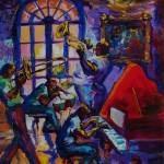 """Lucky Pierres Jazz Pleasure New Orleans"" by sandrabolensamuel"