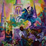 """Passion in the Park New Orleans Jackson Square"" by sandrabolensamuel"