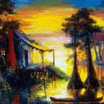 """""""Swamp Sunset"""" by sandrabolensamuel"""