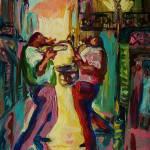 """Two For Jazz New Orleans"" by sandrabolensamuel"