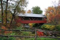 Covered Bridge-Bennington County, Vermont