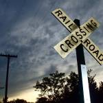 """Railroad crossing"" by NickDavidWright"