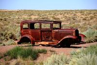 Route 66 - Abandoned Car