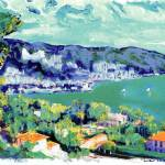 """Italian Riviera Sorrento Coast by RD Riccoboni"" by BeaconArtWorksCorporation"