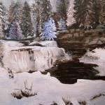 """Snowy Falls"" by arlen"