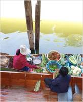 floating market trade