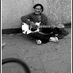 """happy busker"" by mikeLphotography"