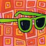 """Green Sunglasses"" by JanetNelson"