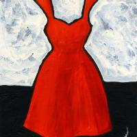 """Red Dress"" by Janet Nelson"