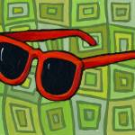 """Red Sunglasses"" by JanetNelson"
