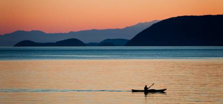 Kayaking the San Juan Islands
