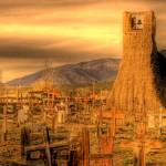 """Bell tower cemetary"" by mellow"