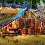 """Old barn"" by mellow"