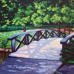 """Bridge in Jericho Park"" by wolodko"