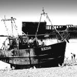 """Hastings Fishing boat"" by andy-coleman"