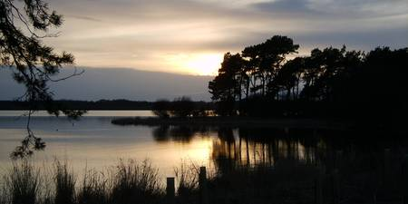 Sunset on Loch Leven Orwell