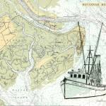 """""""Shrimp Trawler Georgia Lady, Tybee Island Gerogia_"""" by JerrysMarineArt"""