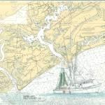 """Shrimp Trawler Sarah Jane, Edisto SC_037"" by JerrysMarineArt"