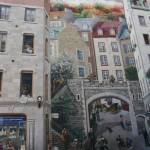 """Mural in Old Quebec City"" by mikepercival"