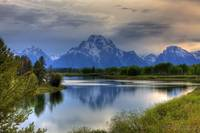 Summer Begins at Oxbow Bend