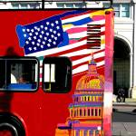 """Washington Ensign tour bus"" by BeechwoodPhotography"