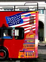 Washington Ensign tour bus
