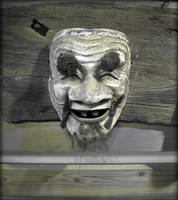 Old Man Noh Mask
