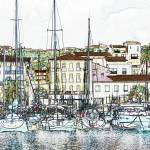 """Port Vendres, France"" by Snowman"