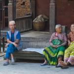 """Bhaktapur gossips, Kathmandu, Nepal"" by ChristopherByrd"