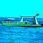 """Caribbean Scuba Diving Boat"" by Caribbean-Digital-Art"