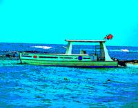 Caribbean Scuba Diving Boat