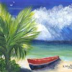 """Summer Storm In The Tropics"" by kathywoolingtonart"