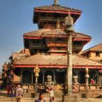 """Dattatreya Pagoda"" by Himalayafan"