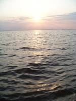 Sunset at the OBX Sound