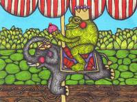 Frog Prince on the Merry-Go-Round