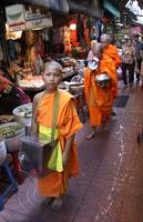 Monk at the Market