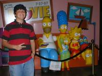 Matthew and the Simpsons